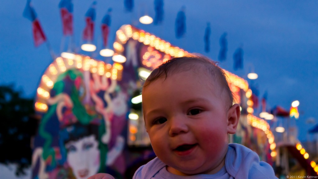 Andrew at the Fair